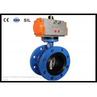 Wholesale Wafer Butterfly Valve Actuator , Flange Butterfly Valve Pneumatic Actuator from china suppliers