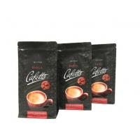 China FDA Food Grade High Barrier Customized Side Gusset Manila Coffee Bags with Zipper on sale