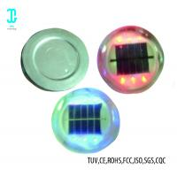 Buy cheap 1.2V 800mAh Solar Road Studs 6 - Pack Blue Solar Powered Boat Dock Lights from wholesalers