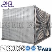 China Steam Boiler Air Heat Exchanger , Tubular Air Heater Tubes Pitch Arranged on sale