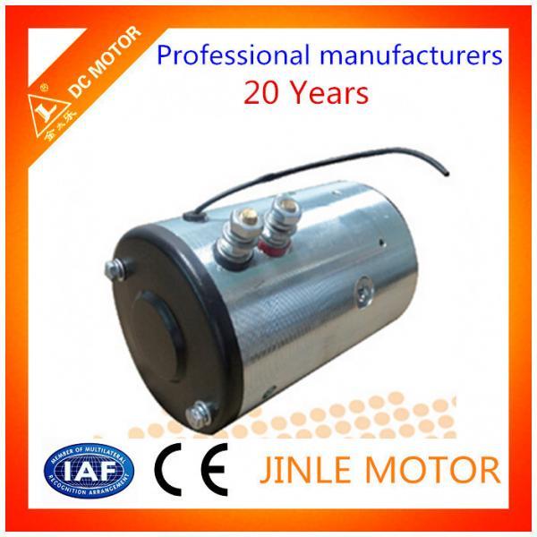 Hydraulic Wheel Hub Motors : Customized v rpm forklift starter hydraulic dc motor