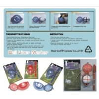 Wholesale golf ball liner marker from china suppliers