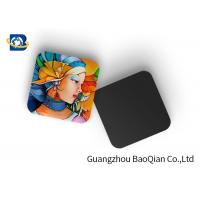 Wholesale Mini 3D Personalised Tea Coasters / Cup Coasters , Custom Square Coasters Printing Placemat from china suppliers