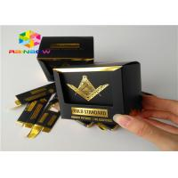 China Embossed Printing Paper Box Packaging Small Commodity Product With Window on sale