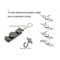 Wholesale Optic Fiber Outdoor Wire Anchor And Span Clamp For Droping Telecommunication Cable from china suppliers
