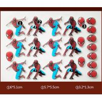 Wholesale Spider Man PET Chocolate Transfer Molds Personalized One Time Use from china suppliers
