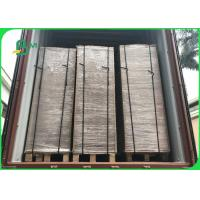 Wholesale Wide 75×105CM Recycle Pulp 1200gsm / 2.0mm Grey Carton Gris For Boxes from china suppliers
