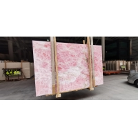 Wholesale Custom Straight Wooden Onyx Marble Slab 18-30mm Thickness from china suppliers