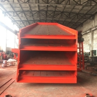 Wholesale High Strength Vibrating Screening Machine , High Frequency Screen For Ore Processing from china suppliers