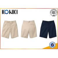 Wholesale Personalized Custom Pants , Comfortable Boys Grey School Pants from china suppliers