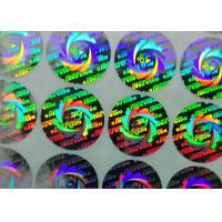 Wholesale Security 3D Gold Custom Printed Sticker Labels Adhesive Hologram Sticker Change Color from china suppliers