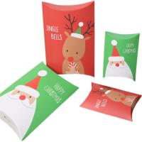 Wholesale Christmas Gift Pillow Custom Retail Packaging Boxes 350gsm Art Paper Material from china suppliers