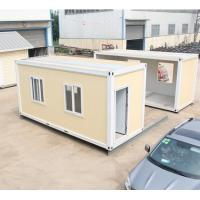 Portable Refugee Housing Unit Flat Pack Container Refugee