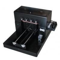 China T - Shirt Small Flatbed Inkjet Printer , A3 Uv Flatbed Printer For Mobile Phone Case on sale