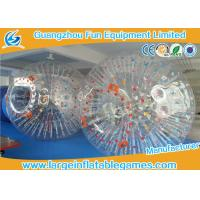 Bumper Soccer PVC Inflatable Zorb Ball For Ramp Zorbing / Grass , Hill Or Land