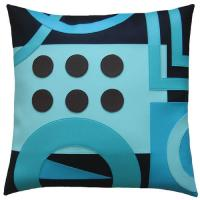 16 Inch Polyester / Cotton Home Decor Pillows Sublimation Printing Manufactures