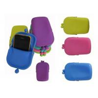 Rohs /  Mixed Silicone Coin Purse and Rubber Pochi Mobile Phone Bag Manufactures