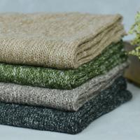 Wholesale 440gsm Plain New Fashion Knitted Wool Blended Fabric For Coats And Shawl from china suppliers