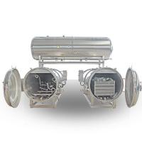 Buy cheap 2 Retorts Parallel with Water Tank for Packaged Food & Canned Food from wholesalers