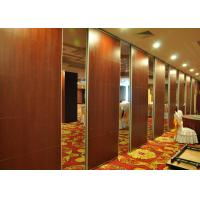 Wholesale EBUNGE Sound Barrier Walls Space Divider Sliding Partition Walls MDF Melamine Finish For Hotel Meeting Room from china suppliers