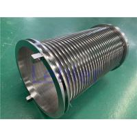 China 300mm Length Wedge Wire Filter Elements 178mm Diameter 0.05mm Slot ISO9001 on sale