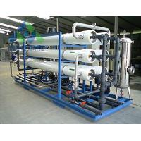 Wholesale UV / Ozone Sterilization RO Water Treatment Plant For Tap Water Leakage Proof from china suppliers