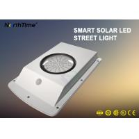 China All In One Solar Garden Lamp , Dimmable Motion Sensor Street Light Last 4 Rainy Days on sale