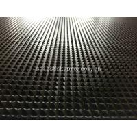 Wholesale Commercial Black Pyramid Pattern Rubber Flooring Matting For Anti - Skidding from china suppliers