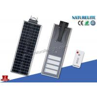 Quality Waterproof IP65 Integrated 70W SolarLed Lights Street Lights PIR Remote Control for sale