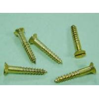 Wholesale Slotted Countersunk (Flat) Head Wood Screw from china suppliers