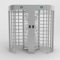 Wholesale SUS304 Double Arm Bi Directional Full Height Turnstile from china suppliers