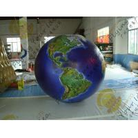 Wholesale Waterproof Earth Balloons Globe , Large Inflatable Advertising Balloons from china suppliers