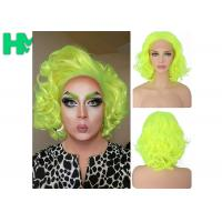 Wholesale Graceful Green Curly Famale Colonial Costume Wig 12 Inch HT Fiber Material from china suppliers