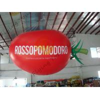 Wholesale 4m Long Plum Tomato Shaped Balloons For Haning / Pop Display / Event Show from china suppliers