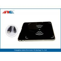 Wholesale RFID USB Reader Writer , HF OEM Desktop RFID Reader Integrated With Antenna from china suppliers