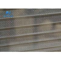 Quality Grey Retractable Insect Screen , Window / Door Use Concertina Fly Screens for sale