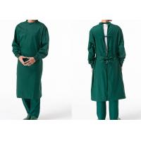 Wholesale Reusable Poly Cotton Surgical Gown Autoclavable Reinforced Scrub Suits from china suppliers