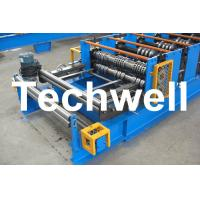 Wholesale PLC Control Deck Roll Forming Machine For Floor Decking Panel, Metal Decking Sheet from china suppliers