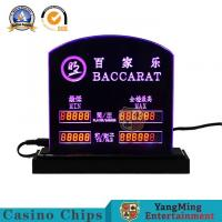 Wholesale Durable Gambling Line Of Limit Casino Game Accessories Customize Win Bet Sign from china suppliers