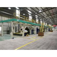 Buy cheap WJ100 Series 5Ply Corrugated Cardboard Production Line from wholesalers