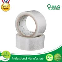 40/42/45/50 Mic Heat Seal BOPP Packing Tape Clear Waterproof For Carton Sealing