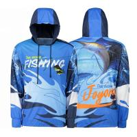 Wholesale Sublimation Custom Fishing Jerseys , Design Your Own Fishing Jersey Sun UV Resistant from china suppliers