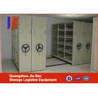 Serried Shelf Compact File Shelving Systems Metal Office Furniture for Warehouse Manufactures