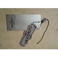 Wholesale Cardboard Swing Custom Garment Tags Paperboard Material Full Color For Luggage from china suppliers