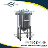 Wholesale 5000 Litre Stainless Steel Water Storage Tank Flexible Mobility With Buffer Storage from china suppliers