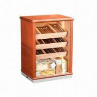 Wholesale Cigar Display Humidor Cabinet, High Gloss Finish Lined with Spanish Cedar from china suppliers
