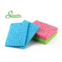 Wholesale Colorful Multi Function Natural Cellulose Sponge for Bottle and Dish Cleaning from china suppliers
