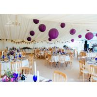 Wholesale Luxury Wedding Tents Aluminum Profile Lining Deco Different Desk and Table Options from china suppliers