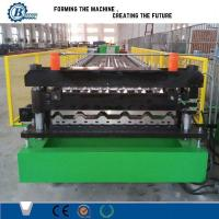 House Roof Panel Roll Forming Machine , Aluminium Roofing Sheet Making Machine