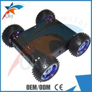 Buy cheap RC Car Diy Robot Kit 4WD Drive Aluminum Electric Smart Car Robot Platform from wholesalers